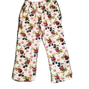 Disney Girl's Mickey Mouse Plush Fleece Pajama M